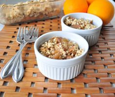 The Best Crockpot Recipe for Apple Cobbler. This season use your slow cooker to make this sweet and warm apple cobbler for family and friends. Vegan Sweets, Healthy Baking, Vegan Desserts, Healthy Desserts, Delicious Desserts, Yummy Food, Dessert Recipes, Fun Food, Healthy Recipes