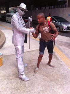 J'Da Prynce and the Tin Man!
