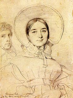 Jean Auguste Dominique Ingres  Drawing
