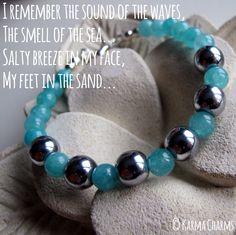 Beautiful aqua colored Agate beads (6mm) combined with silver plated Hematite (8mm) bring back memories from that white sandy beach far away... What beach do you long to go back to?  #karma #jewelry #agate #hematite #bracelets #armbanden #sieraden #healing #yoga #handmade #jewellery #juwelen #oneofakind #beads #oneofakind #yoga #fashion #gems #semiprecious #semipreciousstones #fashionjewelry