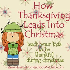 ways to teach your kids to be thankful during advent & christmas