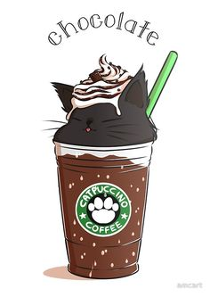 Chocolate CATpuccino