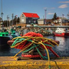 A lovely photo taken in Sambro, a rural fishing community in Nova Scotia.