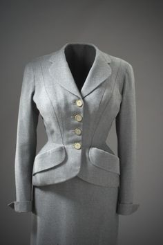 Two-Piece Suit   LACMA Collections Lachasse, 1954