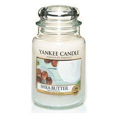 Yankee Candle Classic Housewarmer Gross, Shea Butter, Duftkerze, Raum Duft im Glas / Jar, 1332212E
