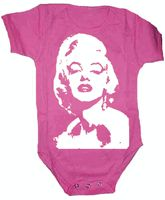Marilyn Monroe Onesie; I know an aunt who would love this!