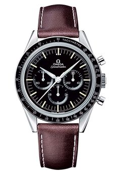 Steel Speedmaster First Omega in Space watch by Omega