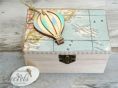 Air Balloon, Balloons, Christening, Save The Date, Toy Chest, Decorative Boxes, Party, Handmade, Home Decor