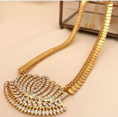 How can i bought Antique Jewellery Designs, Gold Jewellery Design, Antique Jewelry, Gold Jewelry Simple, Simple Necklace, Gucci, Necklace Designs, Indian Jewelry, Bridal Jewelry
