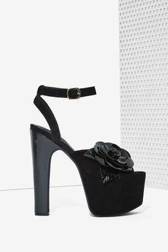 Jeffrey Campbell Jesina Suede Platform - Shoes | Heels | Jeffrey Campbell | Open Toe