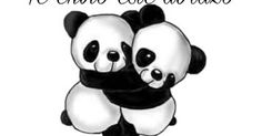 Gotta luv these pandas awww Cute Panda Cartoon, Panda Funny, Panda Wallpapers, Cute Wallpapers, Disney Drawings, Cartoon Drawings, Pandaren Monk, Panda Mignon, Hug Illustration