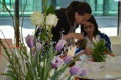 TEHNICA ARANJAMENTULUI FLORAL Sa ne folosim de flori ca de un mesager al sentimentelor!