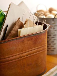 Organize your food pantry with these budget-friendly ideas. Find great storage options at your nearest flea market and make your pantry organized with your own personal style.