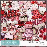 I Love Cupcakes (PU/S4H) by Pati Araujo