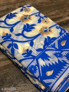 Sarees Trendy Jamdani Cotton Women's Saree  *Fabric* Saree - Jamdani Cotton, Blouse - Jamdani Cotton  *Size* Saree Length - 5.50 Mtr, Blouse Length - 0.80 Mtr  *Work* Zari Woven  *Sizes Available* Free Size *   Catalog Rating: ★4.1 (760)  Catalog Name: Free Mask Jamdani Cotton Sarees CatalogID_412159 C74-SC1004 Code: 4701-3016569-