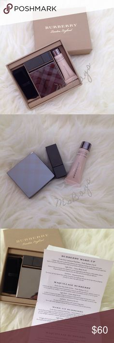 Burberry woman's Burberry woman's cosmetic Nude radiance No.1, Cameo Blush No.2, Rosewood No.421 Burberry Makeup