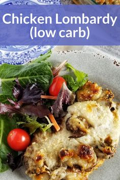 Are you looking for an easy low carb dinner that's family friendly that you can eat to help you lose weight?  Check out this Low Carb Chicken Lombardy recipe that's perfect for Keto or 17 Day Diet #lowcarb #lowcarbdinner #lowcarbmeals #lowcarbmealplanning #ketodiet #17daydiet #17daydietrecipes Best Low Carb Recipes, Diet Recipes, Healthy Recipes, Chicken Mushroom Recipes, Chicken Recipes, New Years Day Dinner, Lunches And Dinners, Meals, 17 Day Diet