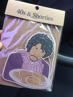 Dave Chapelle/Prince/Pancakes Air Freshner Purple Lace, Entertaining, Phone Cases, Gift Ideas, Gifts, Presents, Purple Ribbon, Favors