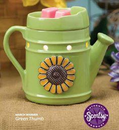 Green Thumb- March Scentsy Warmer Kelly Jackson Scentsy Rep k.jackson1970@yahoo.com