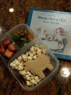This blog has the cutest book themed lunches Keitha's Chaos: Lunches May 28 - May 31st