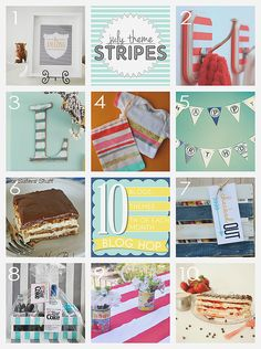 DIY Stripes theme roundup  - landeelu.com