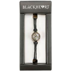 Hot Topic Blackheart Opal Matte Black Tree Of Life Cord Bracelet ($4.72) ❤ liked on Polyvore featuring jewelry, bracelets, multi, rope bracelet, charm jewelry, cord bracelet, opal jewelry and charm bangles