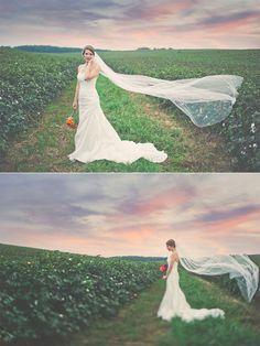 田園飄逸新娘
