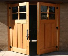 Barn doors for the garage / boathouse
