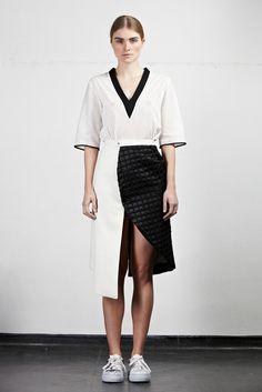 Edeline Lee - Fall 2014 Ready-to-Wear - Look 2 of 24
