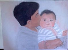 daddy and i pastels 2005