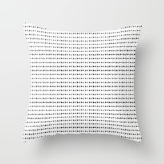 Buy Black Arrows in White Throw Pillow by ARTbyJWP . Worldwide shipping available at Society6.com. Just one of millions of high quality products available.  #throwpillow #throwpillows #cushion #cushions #pillow #pillows #pillowcover  #pillowcovers #society6 #ARTbyJWP #arrows #blackandwhite #homedecor #decoration