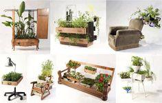 diy furniture gardens