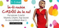 CADOU de Paste o rochie Paste, Top Secret, Shopping