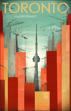 TORONTO poster by Sara L.