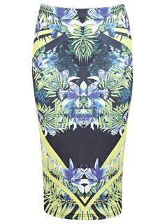 Tropical Mirror Print Pencil