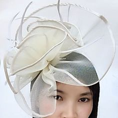 Women's+Crystal+/+Alloy+/+Acrylic+Headpiece-Wedding+/+Special+Occasion+/+Casual+Flowers+1+Piece+–+USD+$+15.98