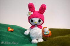 Sabrina's Crochet: Haakpatroon My Melody (Sanrio)
