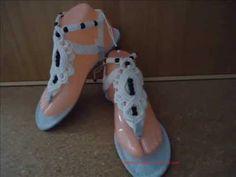 Flip Flop Sandals, Flip Flops, Paracord, Decorating Ideas, Youtube, Shoes, Crochet Sandals, Slippers, Braids