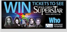 Win A Ticket To See Jesus Christ Superstar Jesus Christ Superstar, Win Tickets, Rock Concert, Fun, Hilarious