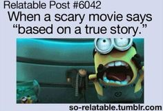 true story @Alli Rense Rense Rense Rense Hudson  so totally us in our room watching scary movies lol