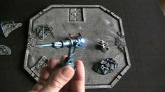 Crafted Arcane Ballista for D&D encounter (The DM's Craft, I Show you my...