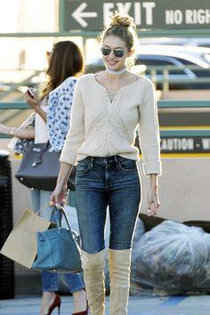 Gigi Hadid Street Style Looks - Gigi Hadid Celebrity Style | Teen Vogue