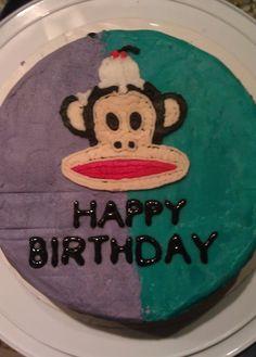 "Paul Frank ""Julius the Monkey"" cake"