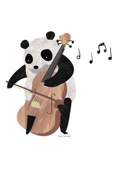 Musical Panda.