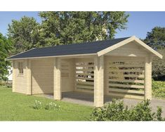 Wood Carports - Settlement In Timber Frame Buildings Carport Sheds, Carport Plans, Carport Garage, Pergola Carport, Pergola Plans, Rv Carports, Pergola Ideas, Cheap Pergola, Outdoor Kitchens