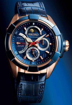 Seiko Velatura Kinetic Direct Drive Moon Phase Watch SRX010P1