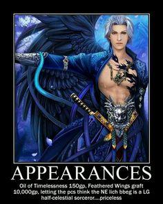 D&D appearances