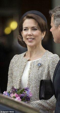~~~ ORGINAL~~~ POSTKARTE ~~~aus Dänemark Prinzessin Mary  von Dänemark
