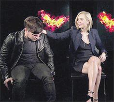 Josh Hutcherson - Jennifer Lawrence - Joshifer
