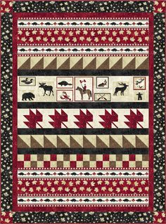 Northcott The National Tapestry pattern